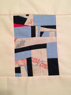 Mary Ann Pettway's tiny quilt square
