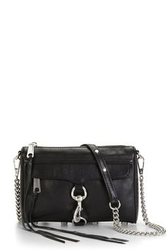 Rebecca Minkoff Mini M.A.C.- Black / Silver.  He chose well!  Merry Christmas to me.