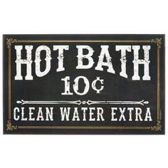 Bathroom Signs Wholesale ohio wholesale vintage bath advertising wall art from our