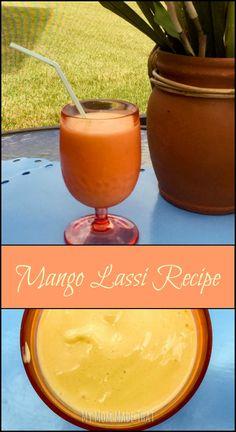 My Mom Made That: Mango Lassi Recipe (Sponsored by Pfizer #FilterRevolution)