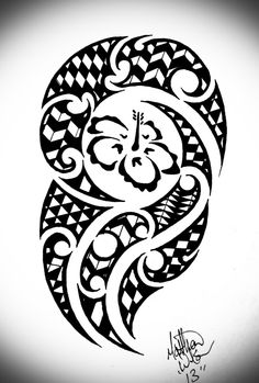 Hawaiian tribal by Bytesback Hawaiian Tribal, Hawaiian Tattoo, Hot Tattoos, Flower Tattoos, Filipino, Samoan Tribal Tattoos, Free Tattoo Designs, Silhouette Tattoos, Hawaiian Flowers