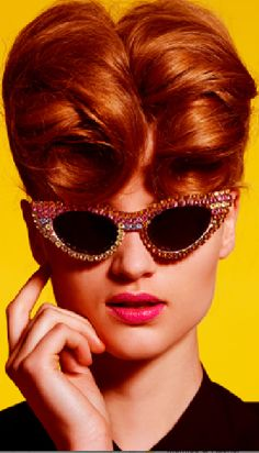 Mercura gem crystal sunglasses