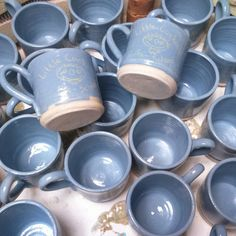 Little Cuckoo's mugs Rustic Elegance, Nespresso, Coffee Maker, Kitchen Appliances, Pottery, Ceramics, Mugs, Tableware, Gifts