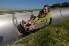 Tobogganing South Africa - A toboggan is a traditional means of transport used by the indigenous peoples of northern Canada. Today it is used on snow to carry one or more people down a hill for fun. Now you will ask me how and where in sunny south africa do I go toboganning?