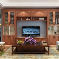 Tv Unit with solid wood