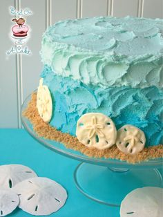 This would be so cute for a summer party or birthday cake! Love it!