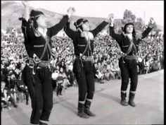Πυρρίχιος, Σέρα χορός - 1965 στα Σούρμενα, Αττικής Greek Traditional Dress, Greek Costumes, Greek Names, Folk Dance, Black Sea, Performing Arts, Pride, Guys, Concert