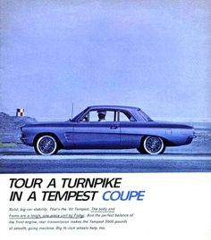 1962 Pontiac Tempest Coupe Ours Had a 2 speed auto transmission