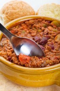 Award-winning chili ... from the crockpot