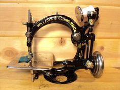 Antique Willcox Gibbs Sewing Machine; 1893