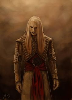 """Prince Nuada.""  Vain, hollow and proud, that's why the fairies won't speak to you, they have no patience for fools and liars"