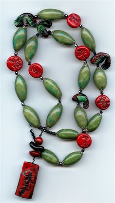 Asian Necklace - Art Jewelry Magazine - Jewelry Projects and Videos on Metalsmithing, Wirework, Metal Clay