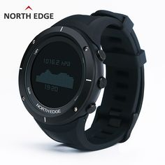 Get Best Price NORTH EDGE Men Sports Watch Altimeter Barometer Thermometer Compass Heart Rate Monitor Pedometer Digital Running Climbing Watch Sport Watches, Cool Watches, Watches For Men, Army Watches, Monitor, Dresser, Sports Brands, All About Fashion, Digital Watch