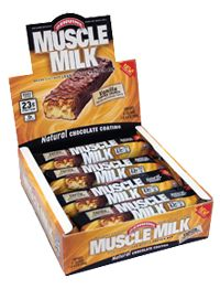 Muscle Milk Bars Vanilla Toffee Crunch by Cytosport - Buy Muscle Milk Bars Vanilla Toffee Crunch 8 Bars at the Vitamin Shoppe