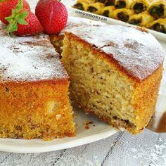 FIRINDA KUZU PİRZOLA; - MOR BOSTAN Baking Recipes, Cake Recipes, Dessert Recipes, Desserts, Gateaux Cake, Most Delicious Recipe, Pudding Cake, Turkish Recipes, Cake Cookies