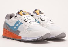 Saucony Shadow 5000 Grey / Blue | Cult Edge