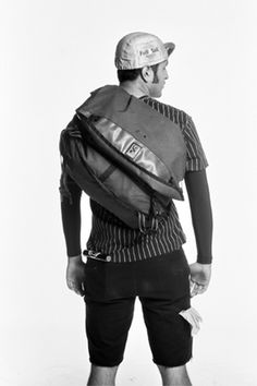 San Francisco Bike Messenger by Beryl Fine, via Behance