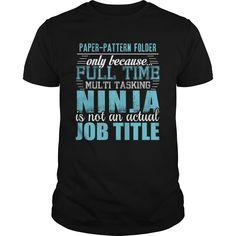 (Top 10 Tshirt) PAPER-PATTERN FOLDER Ninja T-shirt [Tshirt Facebook] Hoodies