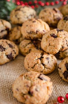 Kiwi, Cranberry Cookies, Chocolate Flowers, Oatmeal Cookies, Chocolate Cookies, Polish Recipes, Cannoli, Oreo, Cake Recipes