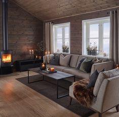 Interior to the mountain cabin