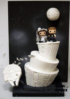 Star Wars Wedding Cake - STAR WARS CAKE IDEAS ~ Southern Blue Celebrations