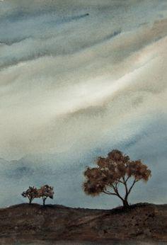 Watercolor - Morning Light