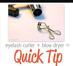 Quick tip xx  Check the temperature of the curler before placing by your eye/ on your lashes!