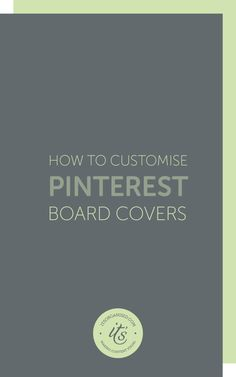 If you we wondering how to give your Pinterest page the look and feel of your blog, today's video will show you how to create branded Pinterest board covers.