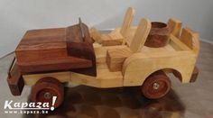 Jeep - Houten speelgoed west-vlaanderen