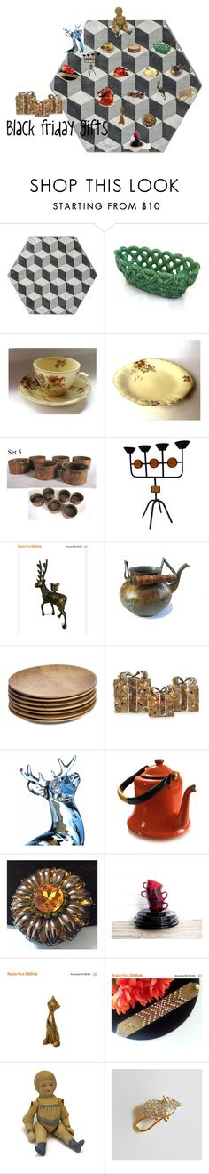 """Black friday holiday gifts #vogueteam"" by underlyingsimplicity ❤ liked on Polyvore featuring NKUKU, Shea's Wildflower Company, Avon, vintage and jewelry"