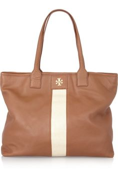 Tory Burch Patty textured-leather tote