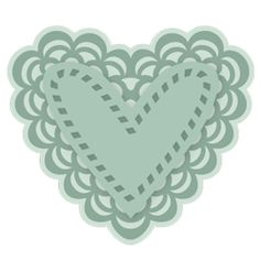 Mary's delicate lace heart . Free over at svgcuts.com The Best digital cutting files on the net!!! Great service!!