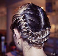 Tinsel hair!