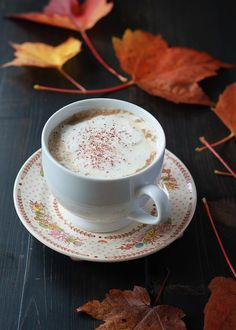 Slow Cooker Gingerbread Pumpkin Lattes - Get cozy with these easy make-ahead lattes that are perfect for weekend mornings and holiday gatherings.