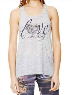 Anjali Clothing Love is Everything Flow Top Marble Aurora   www.downdogboutique.com