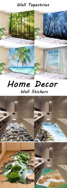 fall decor ideas for the home:Wall Tapestries and Wall Stickers