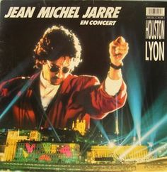 Jean Michel Jarre* - En Concert Houston / Lyon (Vinyl, LP, Album) at Discogs