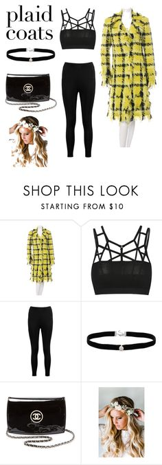 """""""Something simple yet bright"""" by timelesslife ❤ liked on Polyvore featuring Versace, Boohoo, Amanda Rose Collection, Chanel and Emily Rose Flower Crowns"""