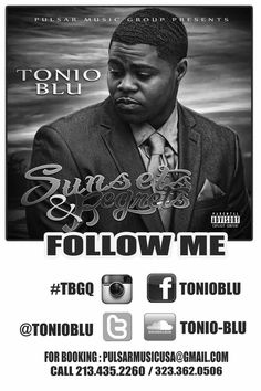 Tonio Blu Sunsets and Regrets the EP