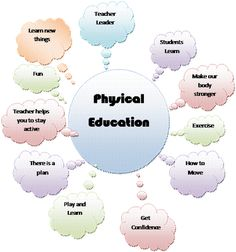 What is the difference between PE and Recess. This is what my students came up with during physical education class.