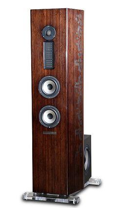 High-end stereo loudspeakers, Genesis G4 image