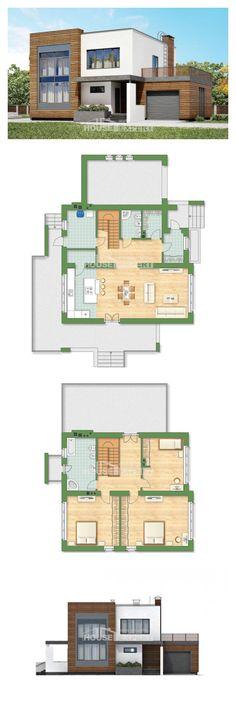 Ev villa projesi 220-003-R | House Expert