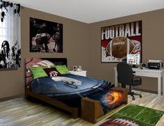 football bedroom decor | boys bedroom ideas | pinterest | football