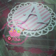 Caixa de Alegria!!! ♡So Cute!  #caixadedoces #festarosa #festaursos#atelieranacastro