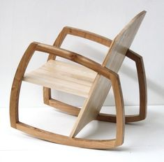 Christopher Mckimmie Rocking Chair Design By Brendan Gallagher, Made By  Christopher Mckimmie. The Timber He Use Is Ash Timber.