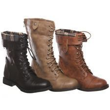 fold over combat boots style