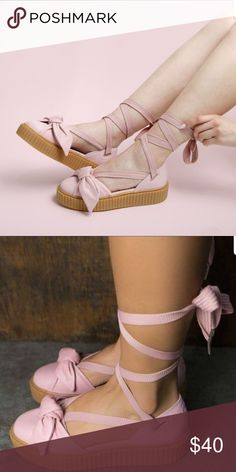 official photos dfb80 5de05 ...  Shoes. See more. NWT Puma Fenty x Rihanna Creeper Bow Sandals Brand  new Puma Fenty x Rihanna creeper bow