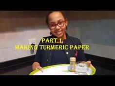 Experiment on acids, bases and neutrals part 1, making turmeric paper Science And Nature, Turmeric, Science And Technology, Experiment, Neutral, Make It Yourself, Paper, How To Make, Science And Nature Books