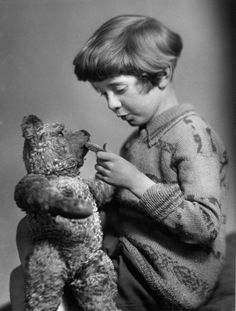 *THE REAL WINNIE-THE POOH and CHRISTOPHER ROBIN MILINE, 1926-1928