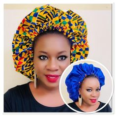 Latest African Fashion Dresses, African Print Dresses, Women's Fashion Dresses, Hair Wrap Scarf, Hair Bonnet, Baby Turban, African Attire, Afro Hairstyles, Elegant Woman